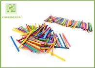 Multi - Color Math Wooden Counting Sticks , DIY Tools Mini Craft Sticks For Child