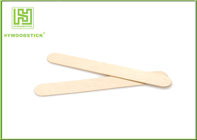 Professional Wooden Waxing Spatulas For Hair Removal Smooth And Round Edge